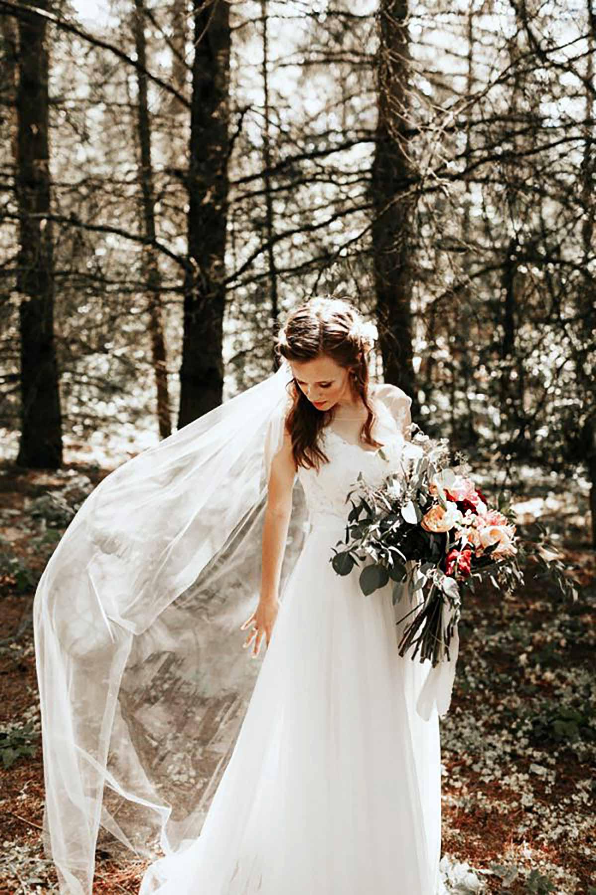 bruden i skov