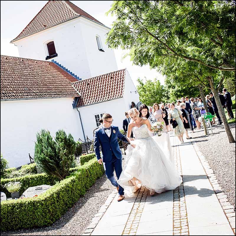 bryllupsfoto kirke