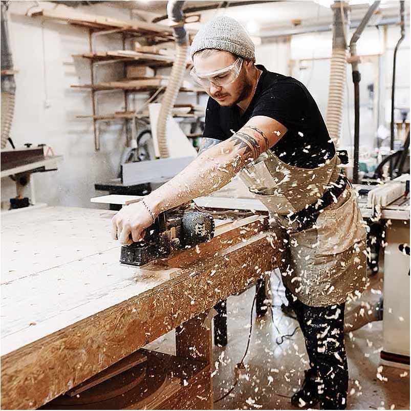 reklamefoto Århus ved snedker